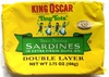 Finest brisling sardines, two layer - Product
