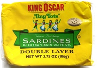 Finest brisling sardines, two layer - Product - en
