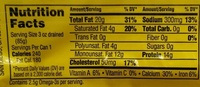 Finest brisling sardines, two layer - Nutrition facts - en