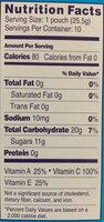 Mixed fruit snacks, mixed fruit - Nutrition facts - en