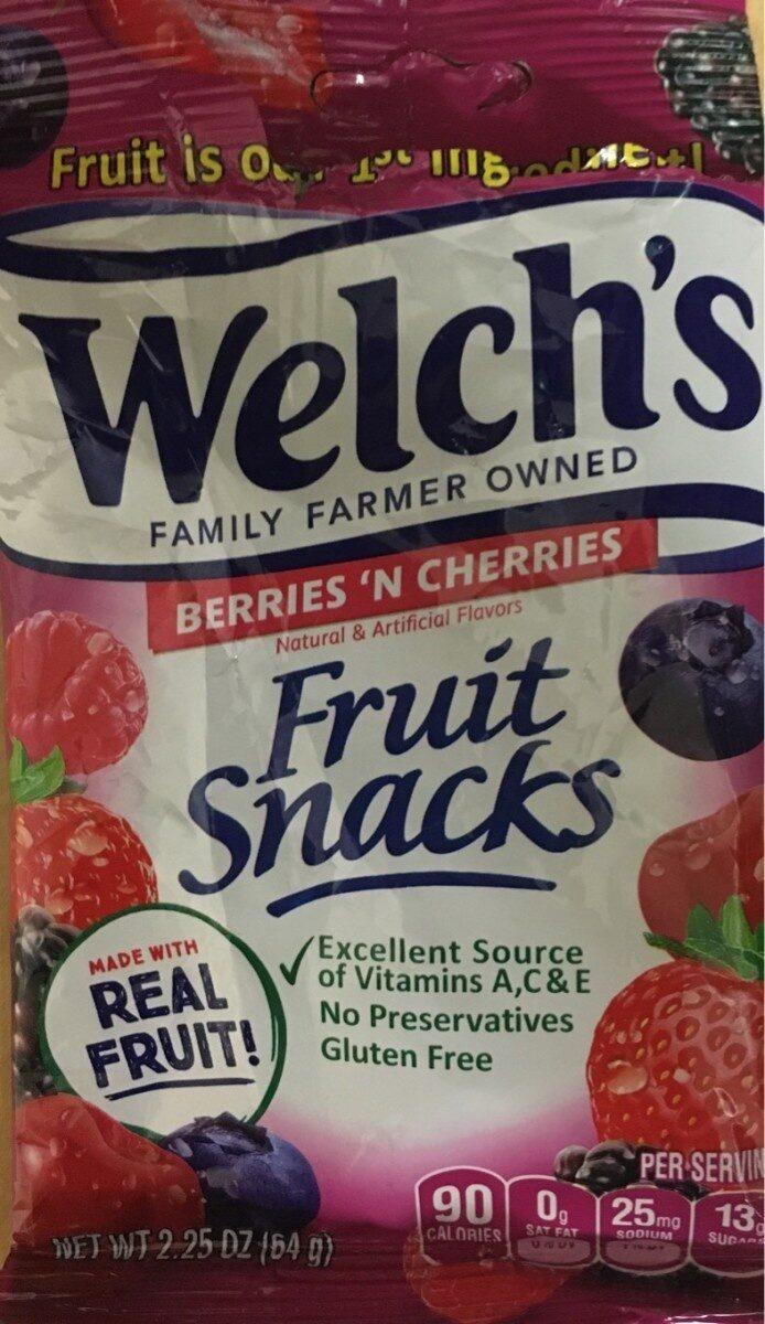 Fruit Snacks - Product - en