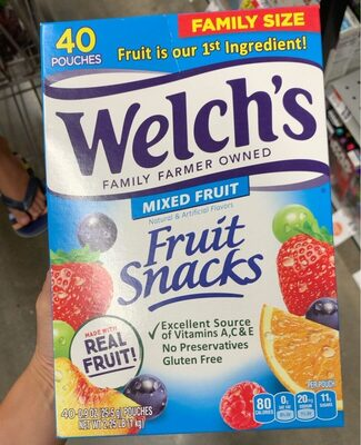 Fruit Snack - Product - en