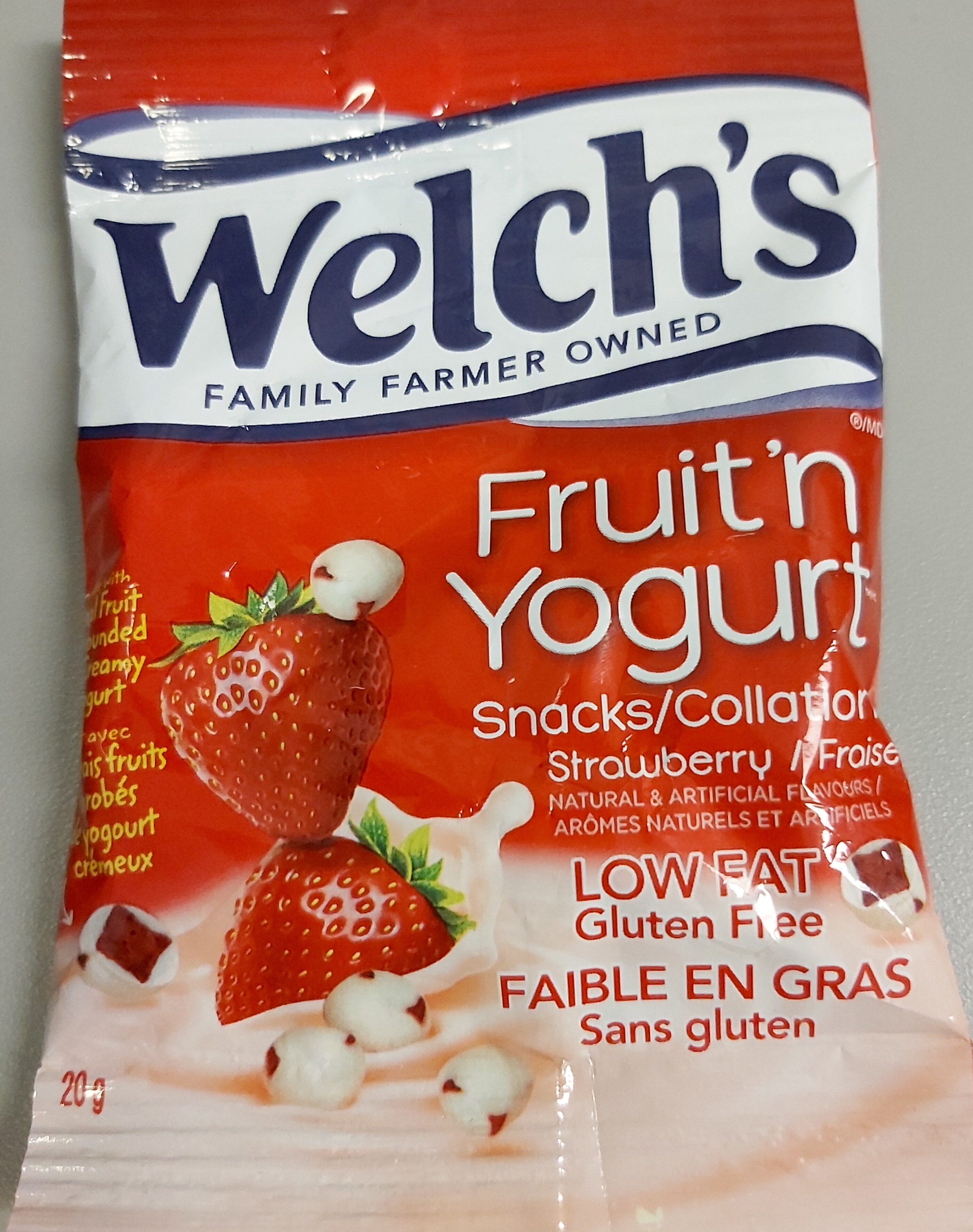 Fruit'n Yogurt Strawberry Snack - Product