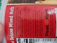 deluxe mixed nuts - Ingrediënten - en