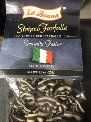 Cuttlefish farfalle - Product