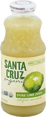 Organic lime juice - Product - en