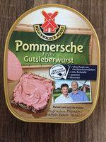 Pommersche Feine Gutsleberwurst - Product - de