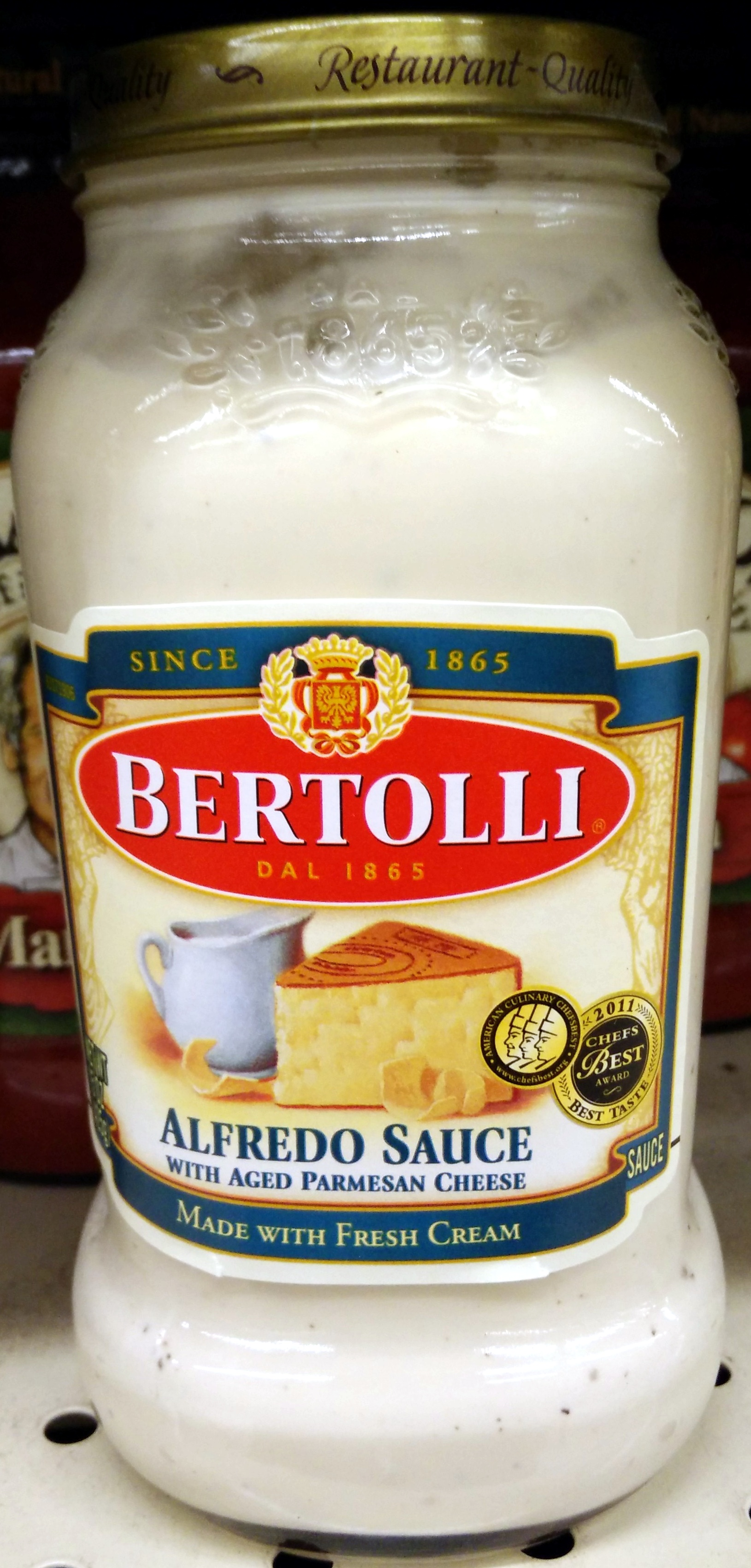 Alfredo sauce with aged parmesan cheese - Product - en