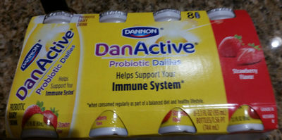 Probiotic dairy drink - Product