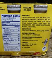 Probiotic dairy drink - Ingredients - en