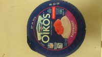 Oikos Greek yogurt raspberry blended - Product