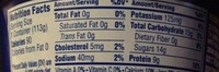 Oikos strawberry - Nutrition facts - en