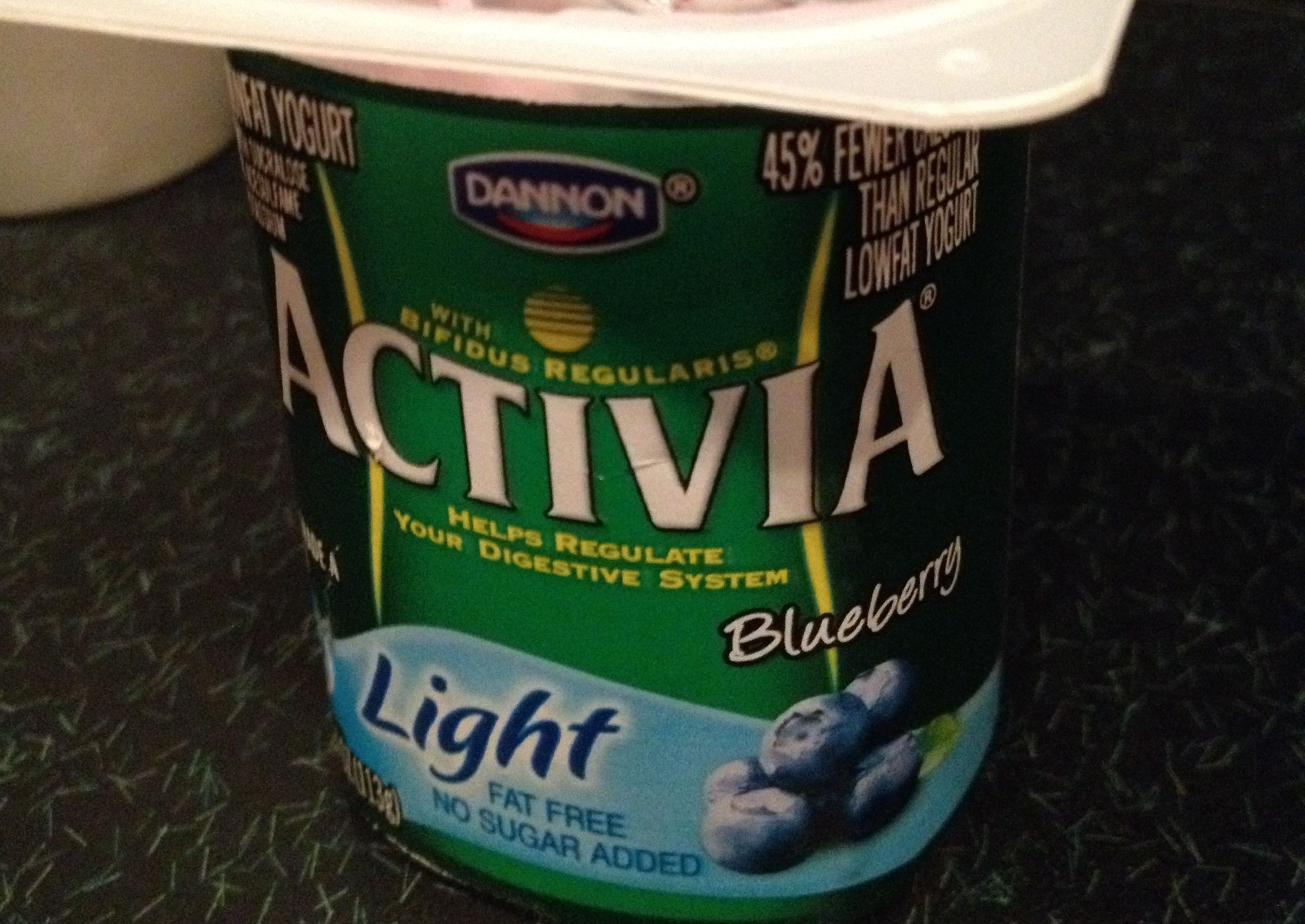 Activia light blueberry - Product - en