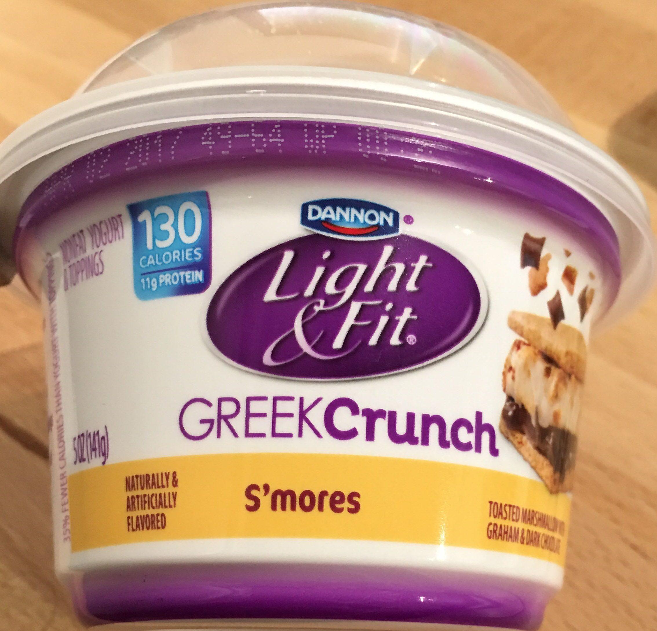 Light & Fit Greek Crunch - S'mores - Product - en