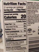 Dairy free creamy original oatmilk creamer - Nutrition facts - en