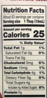 Oatmilk creamer, oatmilk - Nutrition facts - en