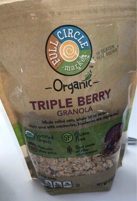 Triple Berry Granola - Product - en
