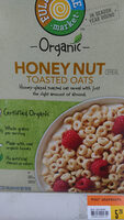Honey nut toasted oats cereal - Product - en