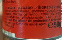 Original - Ingredientes - pt