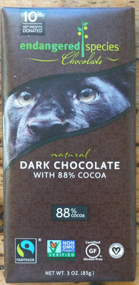 88% cocoa strong   velvety dark chocolate - Product - en