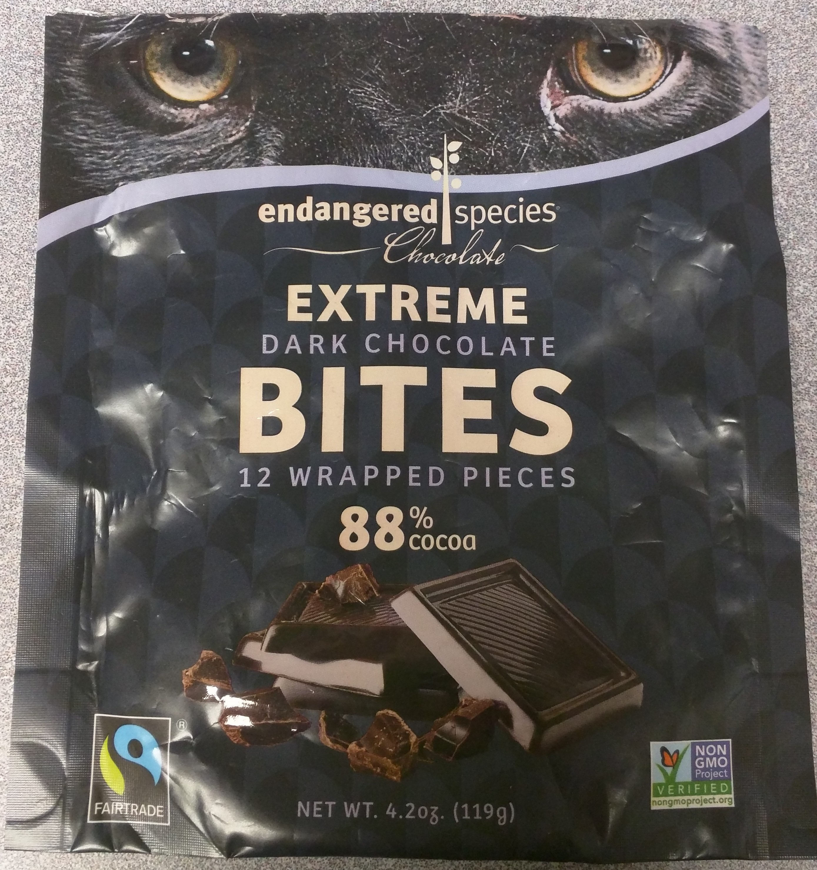 Chocolate bites - Product - en