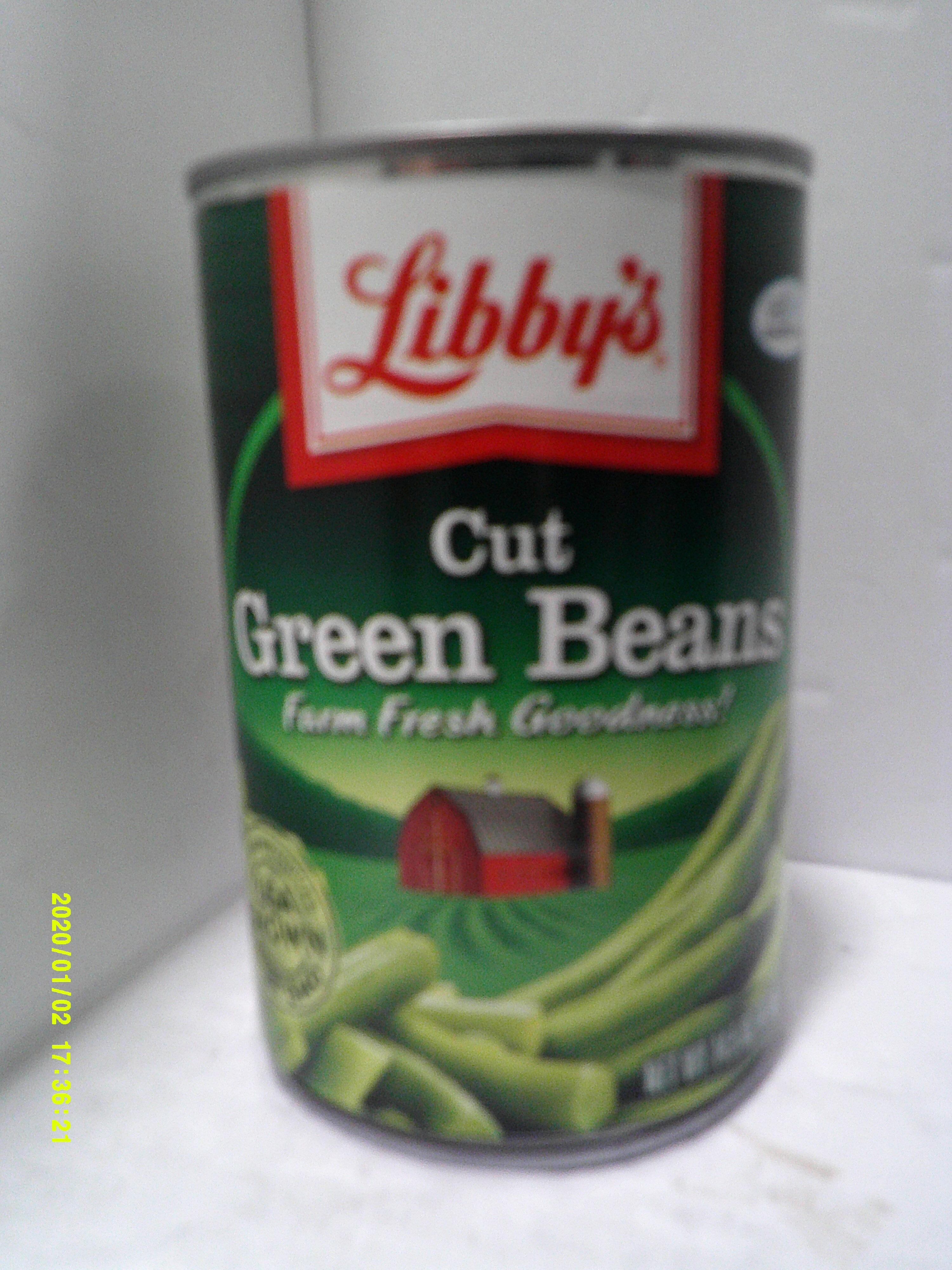 Cut green beans - Prodotto - en
