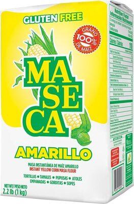 Amarillo instant yellow corn masa flour - Product - es