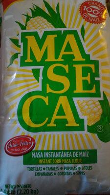 Gluten free instant corn masa flour - Producto - es