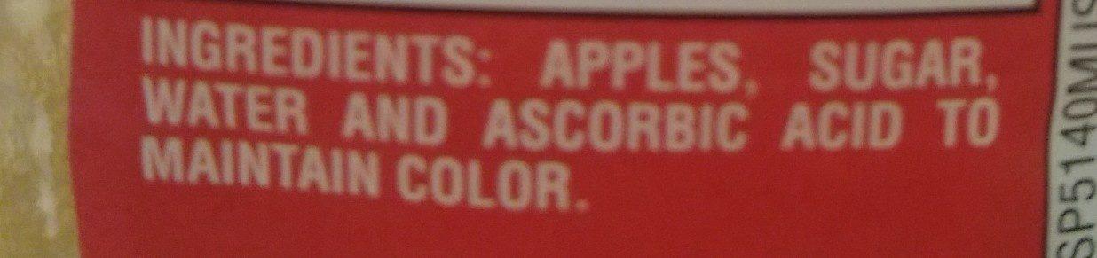 Original Apple Sauce - Ingredients