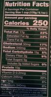 Eggplant Parmigiana - Nutrition facts - en