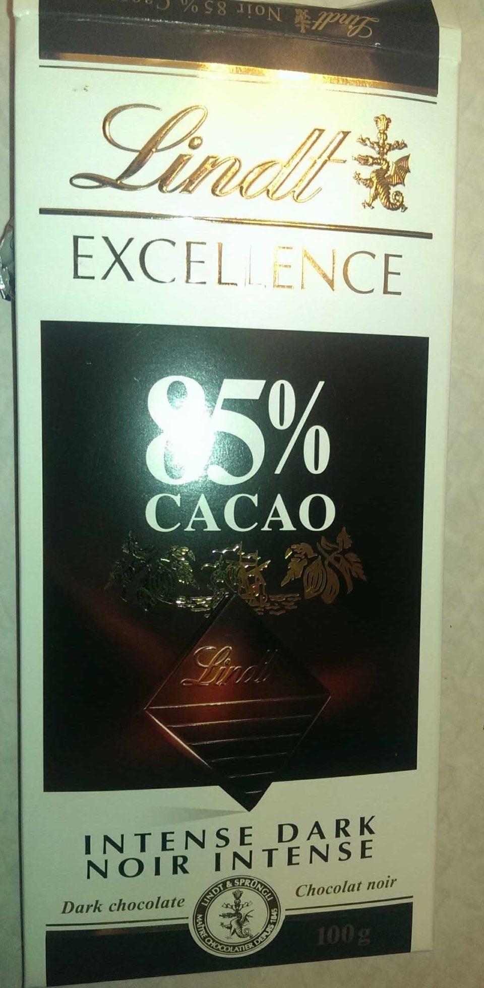 Chocolat Noir Intense 85% - Product - en