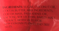 Lindor - Ingredients - en