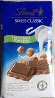 Lindt chocolat au lait et noisettes - Product - en