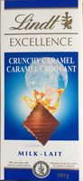 Lindt Excellence Caramel Croquant - Product - fr