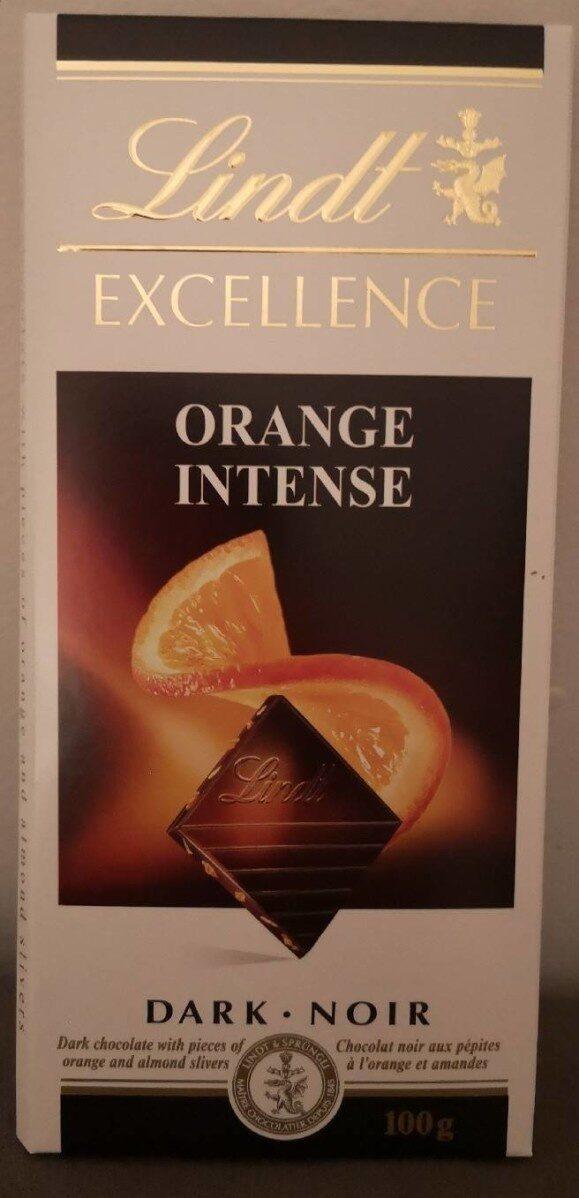 Chocolat Noir Excellence Orange Intense - Product - en
