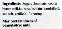 Lindt excellence, dark chocolate, dark - Ingredients - en
