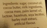 Lindt - Ingredients - en