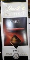 Lindt Excellence Chili Dark - Product