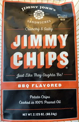 Jimmy Chips - BBQ Flavored - Product - en