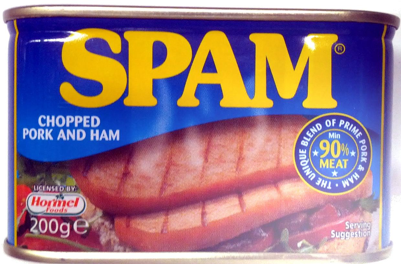 SPAM chopped pork and ham - Produit - en