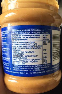 Beurre de Cacahuètes Extra-Crunchy - Nährwertangaben - fr