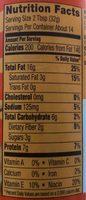 Creamy roasted honey nut peanut butter, creamy roasted honey nut - Nutrition facts - en