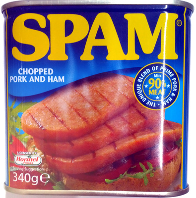 SPAM chopped pork and ham - Produit
