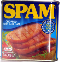 SPAM chopped pork and ham - Informations nutritionnelles