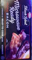 Bacon microwave ready - Product