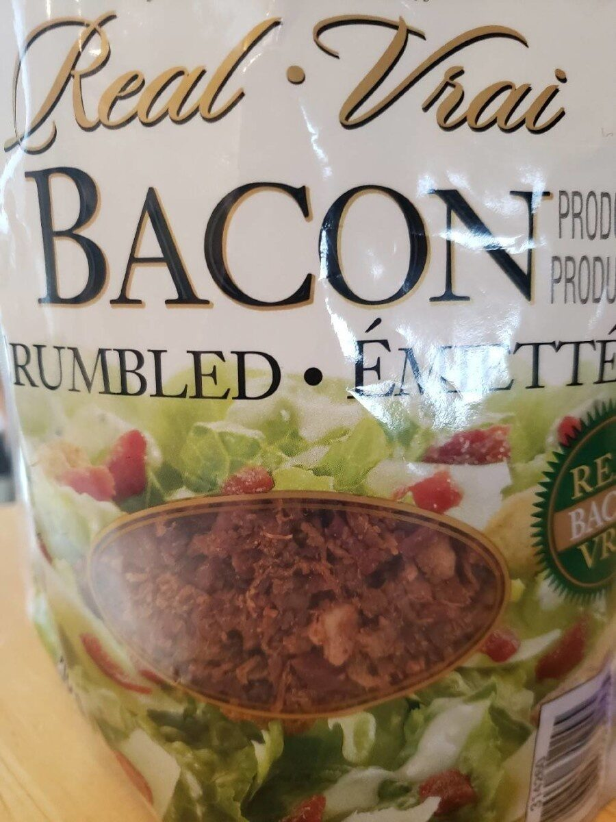 real crumbled bacon - Prodotto - fr