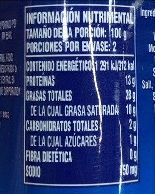 Spam Baked Meat - Voedingswaarden - es