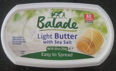 Light butter with sea salt - Product - en