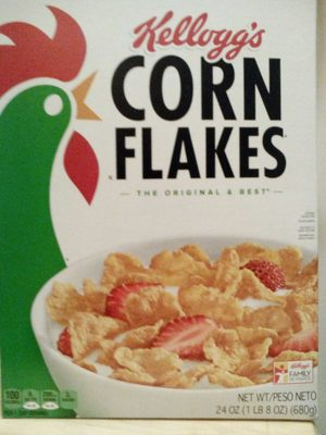 Corn flakes cereal - Product - en