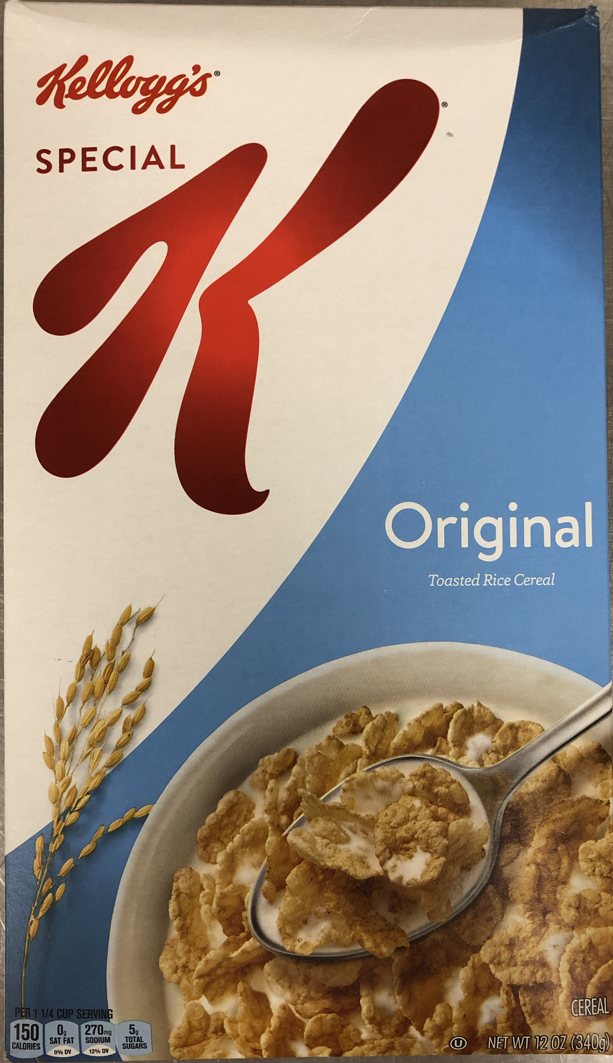 Toasted rice cereal - Produit